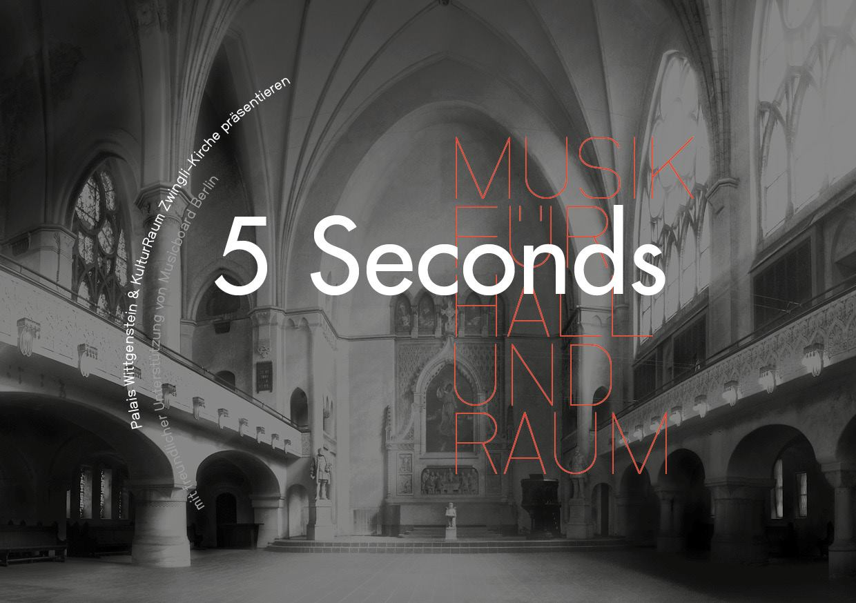 5 seconds - musik für hall & raum
